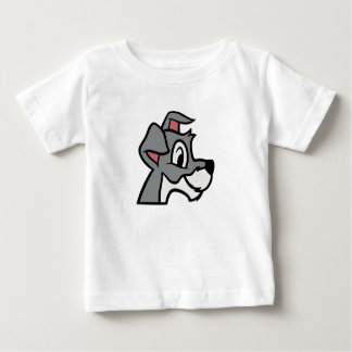 Lady And the Tramp head shot classic drawing Infant T-shirt