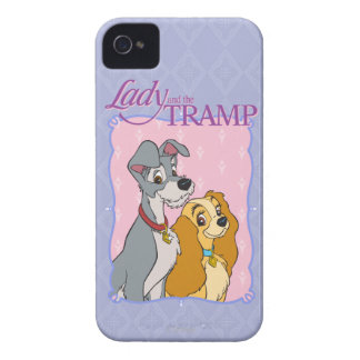 Lady and the Tramp logo iPhone 4 Case