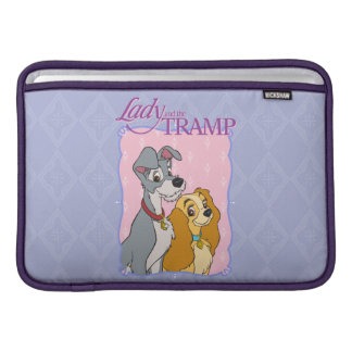 Lady and the Tramp logo MacBook Sleeve