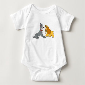 Lady and The Tramp Meet Disney Baby Bodysuit