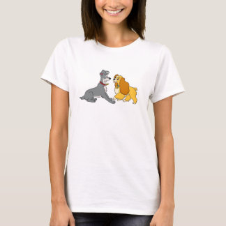Lady and The Tramp Meet Disney T-Shirt