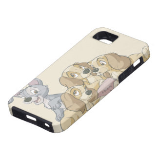 Lady and the Tramp Puppies iPhone 5 Cover
