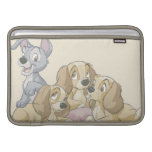 Lady and the Tramp Puppies MacBook Sleeve