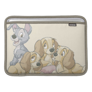 Lady and the Tramp Puppies MacBook Sleeves