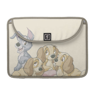 Lady and the Tramp Puppies Sleeve For MacBook Pro