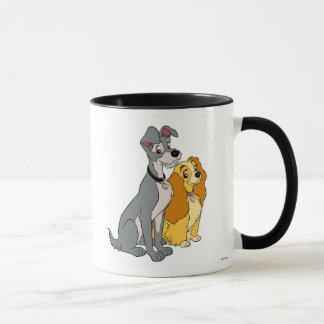 Lady and the Tramp Stand Together Disney Mug