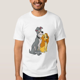 Lady and the Tramp Stand Together Disney Shirt