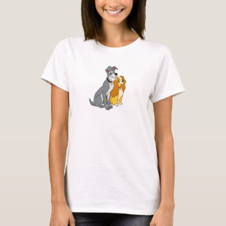 Lady and the Tramp Stand Together Disney T-Shirt