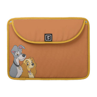 Lady and the Tramp Stand Together MacBook Pro Sleeve