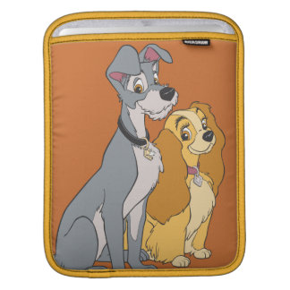 Lady and the Tramp Stand Together Sleeve For iPads