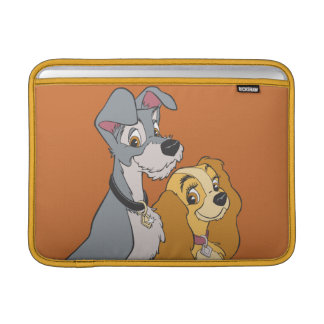 Lady and the Tramp Stand Together Sleeve For MacBook Air