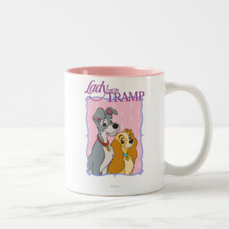 Lady and the Tramp Two-Tone Coffee Mug