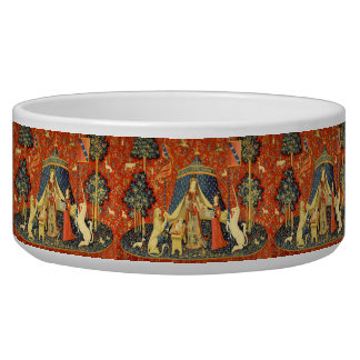 Lady and the Unicorn Medieval Tapestry Art Bowl