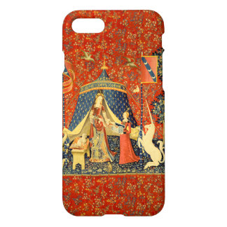 Lady and the Unicorn Medieval Tapestry Art iPhone 8/7 Case