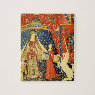 Lady and the Unicorn Medieval Tapestry Art Puzzles