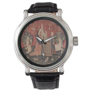 Lady and the Unicorn Music Wristwatch