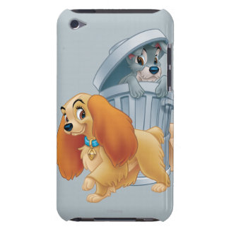 Lady and Tramp in the Trash Barely There iPod Cover