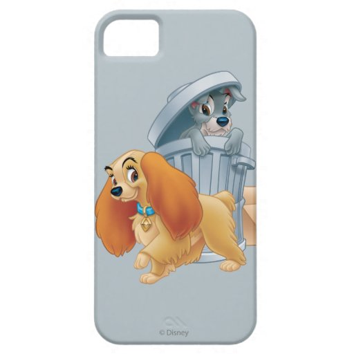 Lady and Tramp in the Trash iPhone 5 Case