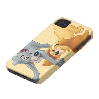 Lady and Tramp Playing iPhone 4 Cover