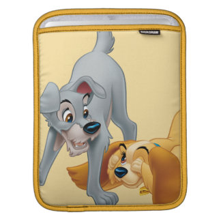 Lady and Tramp Playing Sleeve For iPads