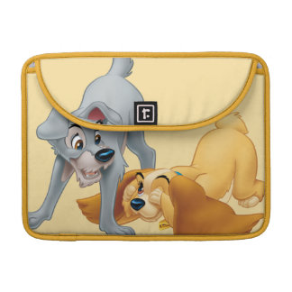 Lady and Tramp Playing Sleeve For MacBooks