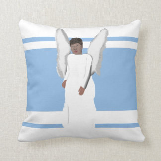Lady Angel Throw Pillow