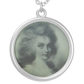 Lady Ann Keith Round Pendant Necklace