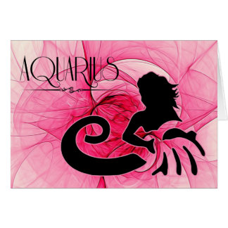 Lady Aquarius Zodiac Blank Note Cards