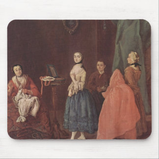 Lady at the Dressmaker by Pietro Longhi Mouse Pad