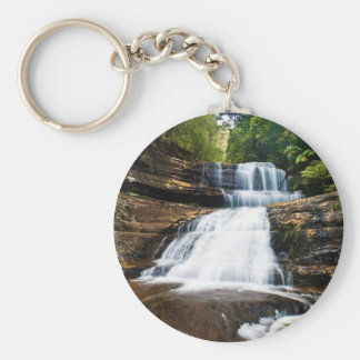 Lady Barron Falls in Mount Field National Park Keychain