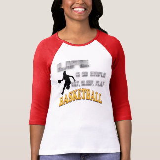 Lady Basketball T-Shirt