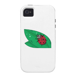 Lady Beetle iPhone 4/4S Case