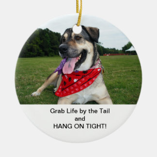 Lady Belle Christmas Ornament