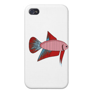 Lady Betta - Veiltail Cases For iPhone 4