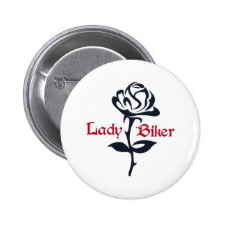 LADY BIKER BUTTONS