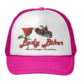 Lady Biker Trucker Hat