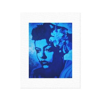 Lady Billie Canvas Print