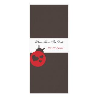 Lady Bird -Elegant Save the date cards Invitations