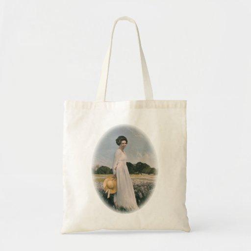 Lady Bird Johnson - Aaron Shikler (1978) Bags