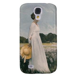 Lady Bird Johnson - Aaron Shikler (1978) Samsung Galaxy S4 Cover