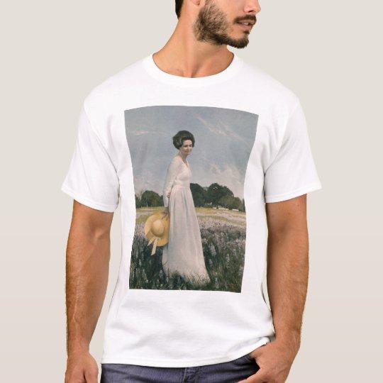 Lady Bird Johnson - Aaron Shikler (1978) T-Shirt