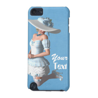 Lady Blue Case iPod Touch (5th Generation) Covers