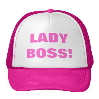 LADY BOSS! TRUCKER HAT