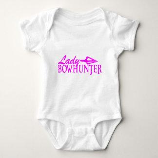 LADY BOWHUNTER BABY BODYSUIT