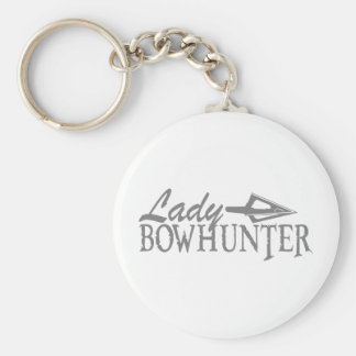 LADY BOWHUNTER KEYCHAIN