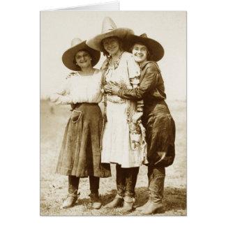 Lady Buckaroos Card