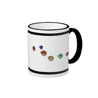 lady bug 2 ringer mug