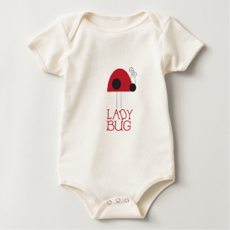 Lady Bug Baby Sleeper Baby Bodysuit
