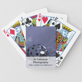 Lady Bug Bicycle Playing Cards