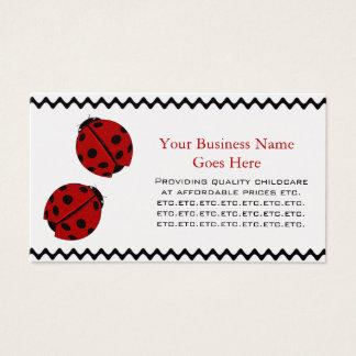 Lady Bug Business Card